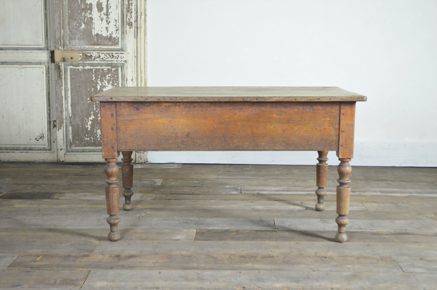 19 Th Century French Kitchen Table