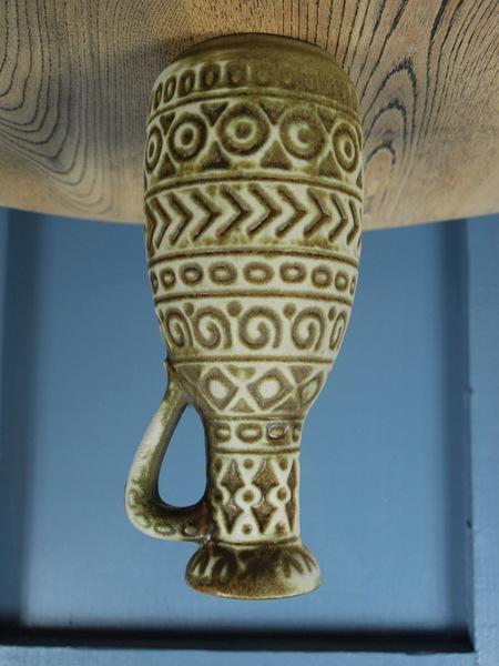 Mid Century Vintage 1960s West German Vase