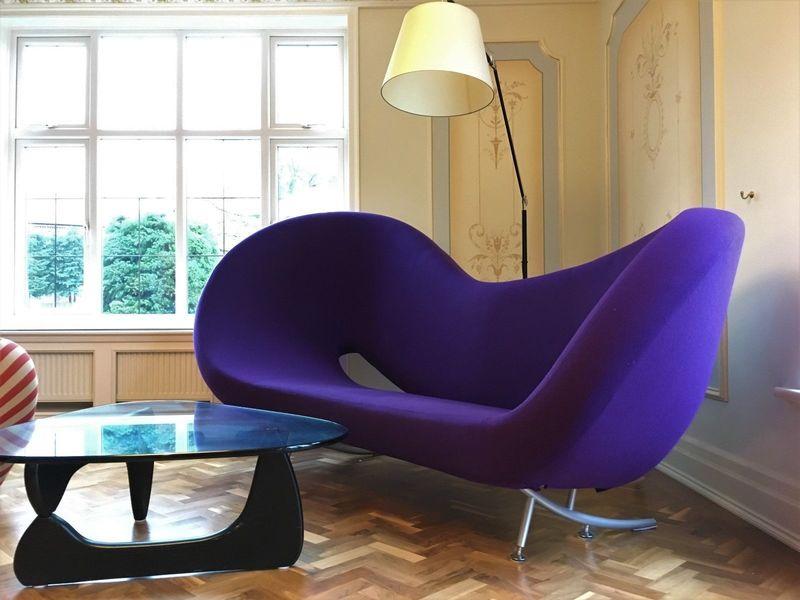 Design Modern Unique Purple Victoria And Albert Asymmetrical Sofa By Moroso