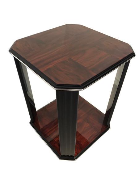 Mahogany Art Deco Side Table