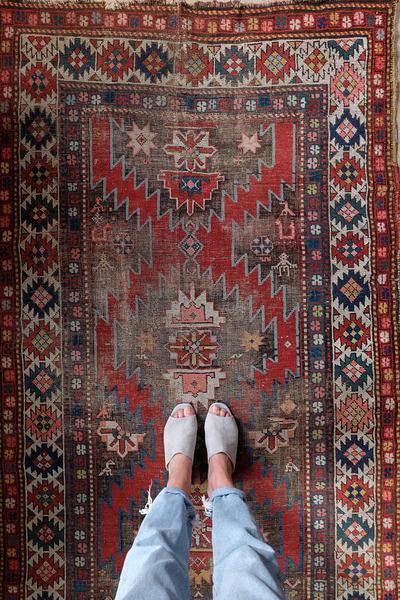 Vintage Persian Tribal Rug   Atlas
