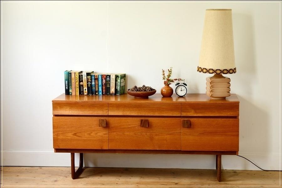 Vintage Sideboard Teak  Mid Century Danish Design