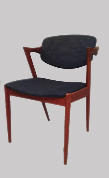 1960s Kai Kristiansen Model 42 Dining Chairs In Teak