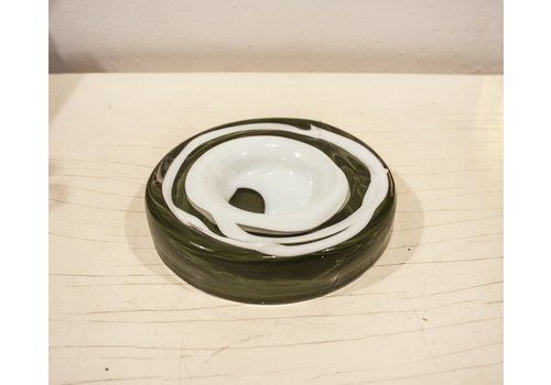 Murano Glass Ashtray From Venini, 1970s