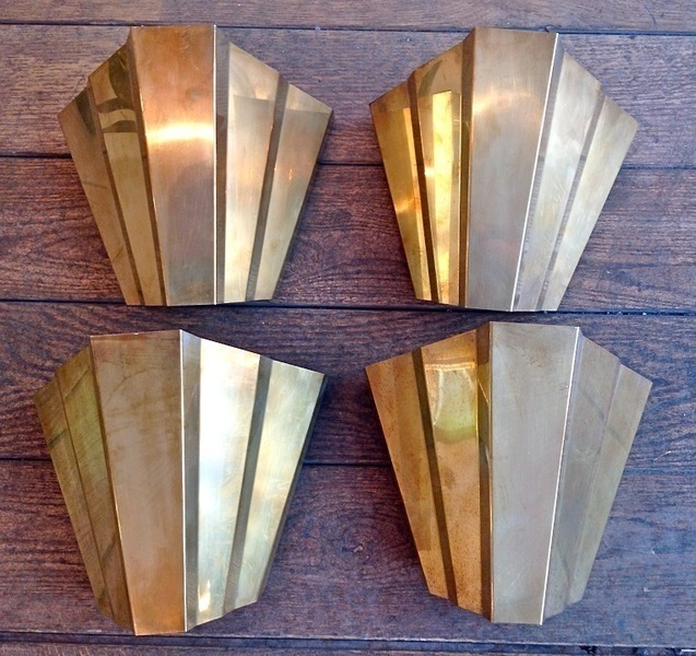 Art Deco Style Wall Sconces