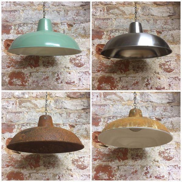 Classic Designer Kitchen Enamel Metal Pendant Lampshade