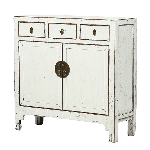 White Vintage Cabinet From Shandong