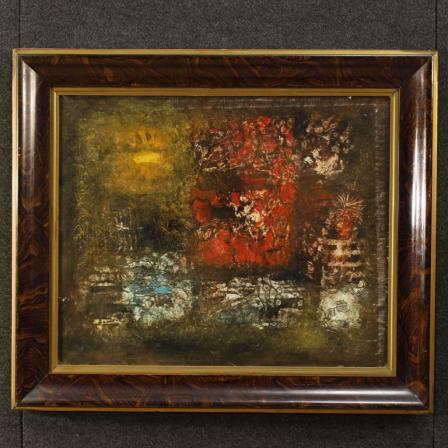 American Abstract Painting Signed By Robert Jay Wolff