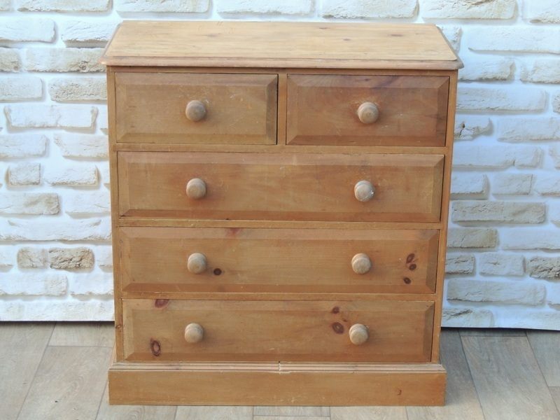 Welsh Pine Wooden Drawers