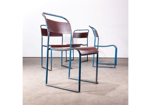 Rare Early 1940's Pel Bakelite Seat Dining Chairs – Various Quantities Available