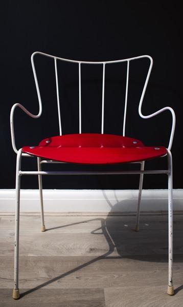 Ernest Race Antelope Chair, Original Vintage C.1950s, Designed For The Festival Of Britain