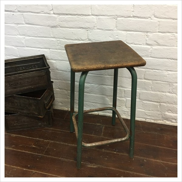 French Factory Machinist Stool