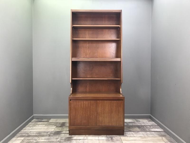 Vintage Wall Unit Retro Teak Bookcase Hifi Record Cabinet Shelf Mid Century 1
