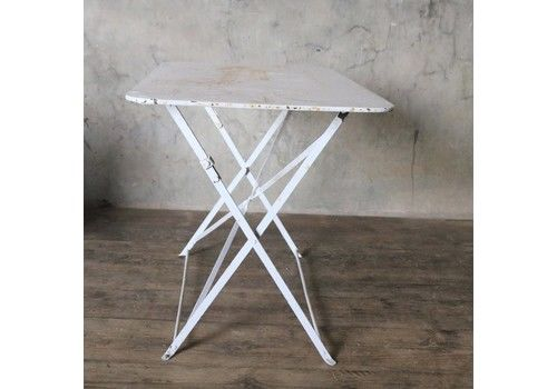 French Vintage Folding Bistro Table