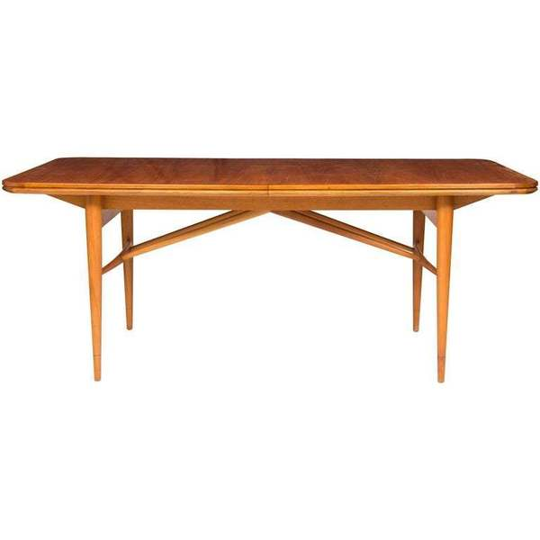 Midcentury Extending Rosewood Dining Table By Robert Heritage For Archie Shine
