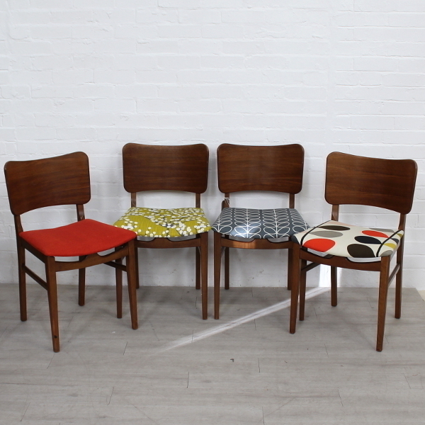 Set Of Mid Century Chairs By Beautility