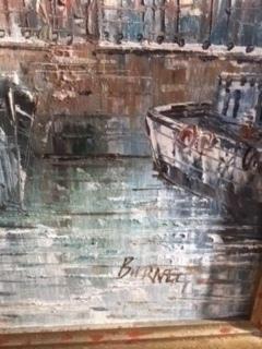 A Pair Of Signed Burnett Framed Oil Paintings