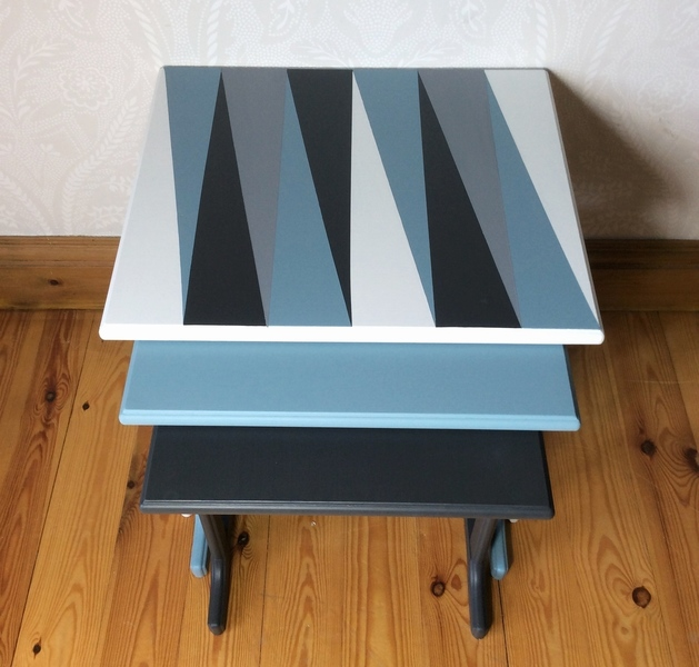 Nest Of Tables, Coffee Tables, Side Tables, Retro Tables