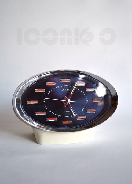 Vintage Space Age Rhythm Alarm Clock