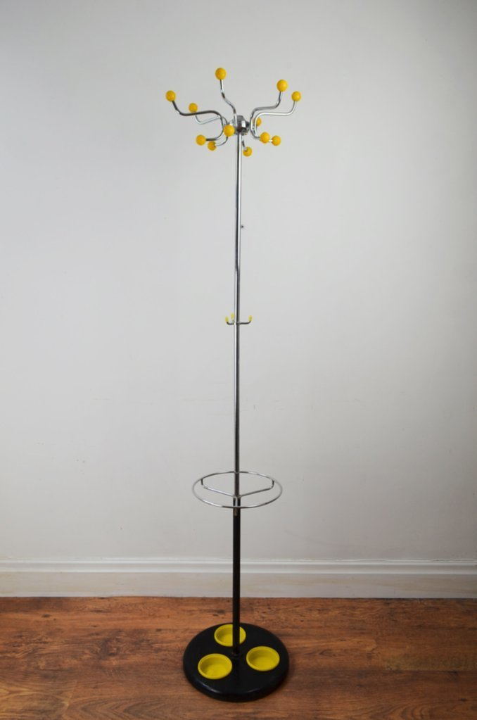 Retro Atomic 1970s coat stand