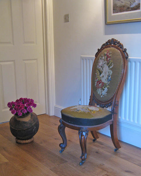 Victorian Mahogany Nursing Or Slipper Chair For Re Upholstery