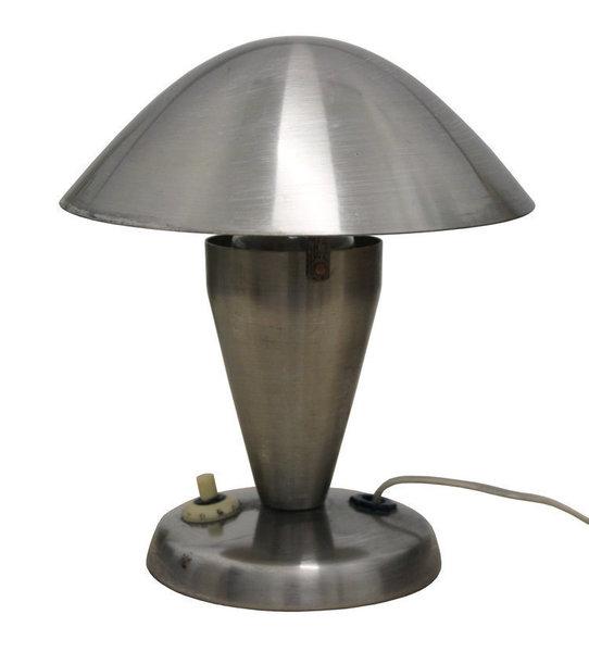 "Set Of Two N 11 ""Mushroom"" Table Lamps By Josef Hurka"