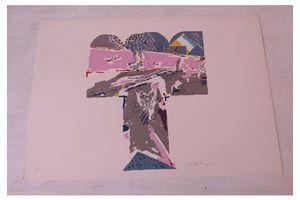 Thumb screenprint by giorgio bellandi 1970s 0