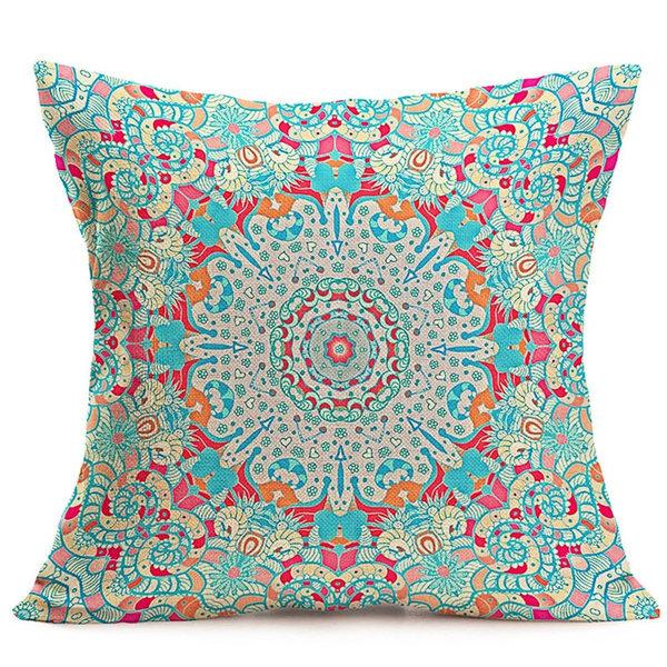 Boho Paisley Cushion Cover