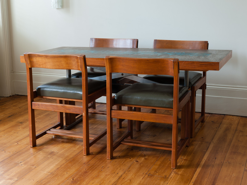 German Adjustable Coffee Or Dining Table
