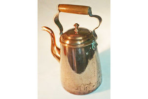 Thumb copper coffee pot antique english 0