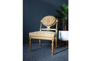 Thumb antique french louis xvi guilded side chair unknown 0