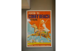 Thumb original vintage 1960s come to coney beach porthcawl wales lithograph poster 05064fc0 4826 4e72 990c a65480b122ff 0
