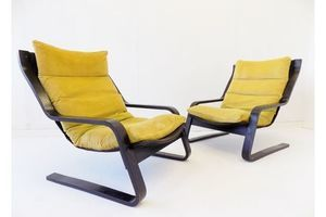Thumb farstrup cantilever chair set of 2 70s 0