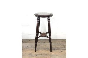 Thumb late victorian stained pine jardiniere plant stand unknown 0