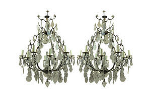 Thumb pair of large french cage chandeliers 0e75433d 859b 405c a2fe 3703d918e7dc 0