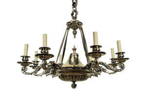 Thumb large charles ii style silver plated bronze chandelier e913bba4 fd8d 4dc7 8e7f e3320c590821 0