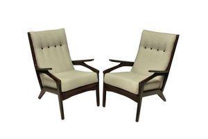 Thumb a pair of mid century danish armchairs 1950s 0