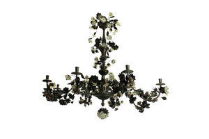 Thumb a large bronze chandelier decorated with flowers leaves 8eb4660d a249 41a4 b647 113226a2a5d7 0