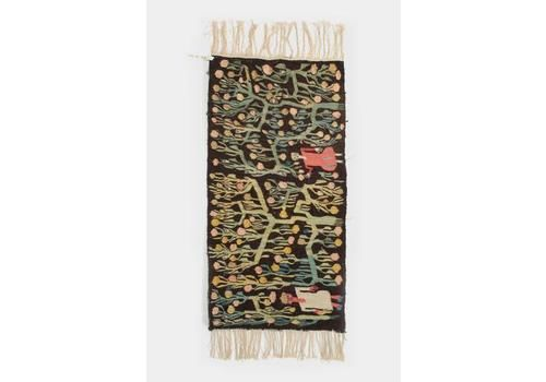 Ethiopian Wall Carpet Hand Knotted