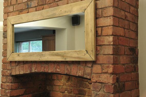 Full Length Mirror Handmade From Reclaimed Wood