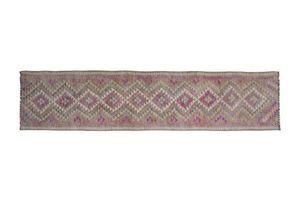 Thumb decorative turkish oushak kilim runner wool hallway runners 83 x 353 0