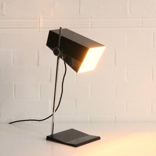Josef Hurka Box Shade Desk Lamp photo 1