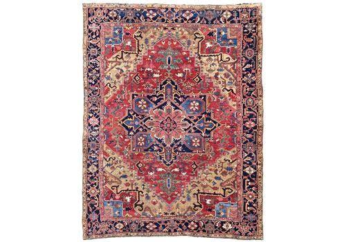 Antique Heriz Carpet 3.20m X 2.37m