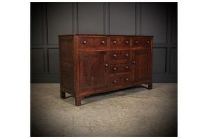 Thumb 18th century oak sideboard 1700s united kingdom of great britain and northern ireland 0