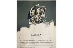 Thumb saura antonio offset poster v anniversary of la casa de epana in paris 1983 unknown 0