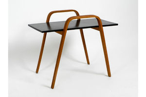 Thumb beautiful danish mid century teak side table in a minimalistic design 0