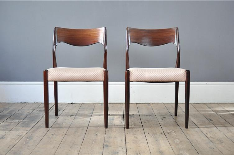 Rosewood Dining Chair photo 1