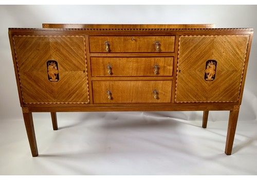 1930s Walnut Sideboard