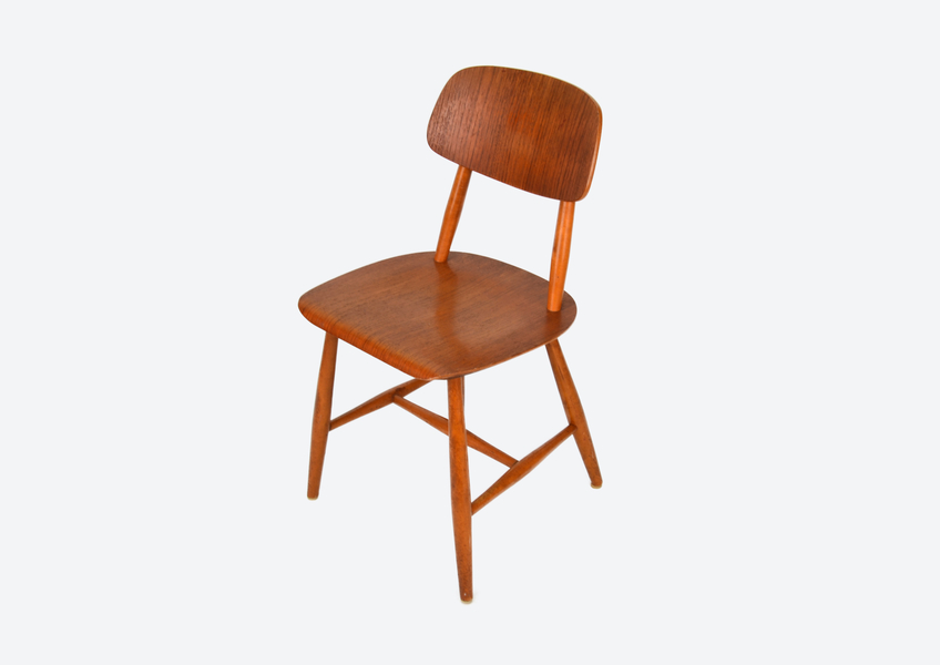 Dining Chair Paus 28 T Martinsson & Axelsson For Nässjö Stolfabrik, Sweden 1960s