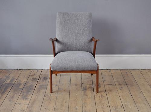 Dutch Teak Armchair photo 1